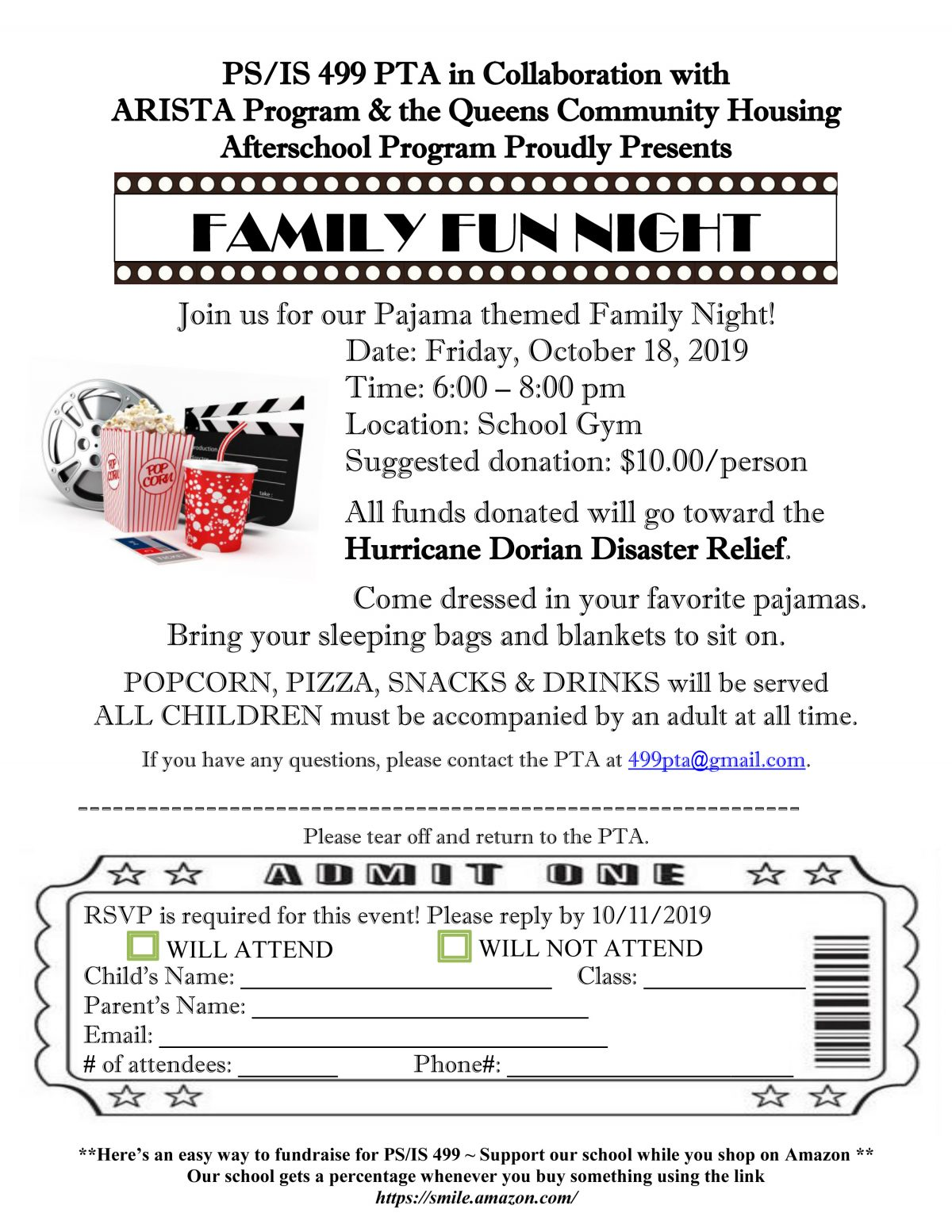 Join us for Family Fun Night!